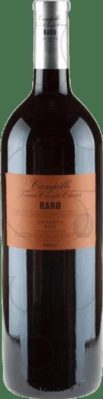 72,95 € Envío gratis | Vino tinto Campillo Raro D.O.Ca. Rioja La Rioja España Tempranillo Botella Mágnum 1,5 L