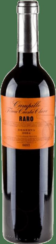 35,95 € Envío gratis | Vino tinto Campillo Raro Reserva D.O.Ca. Rioja La Rioja España Tempranillo Botella 75 cl
