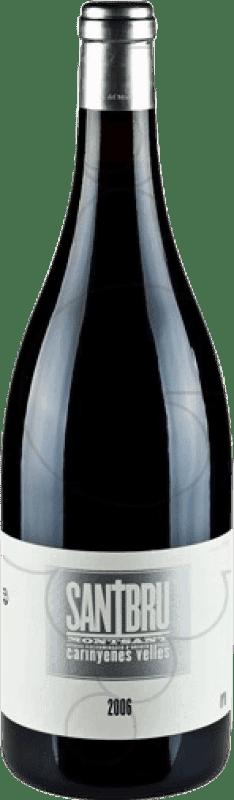 42,95 € Envío gratis | Vino tinto Portal del Montsant Santbru D.O. Montsant Cataluña España Syrah, Garnacha, Mazuelo, Cariñena Botella Mágnum 1,5 L