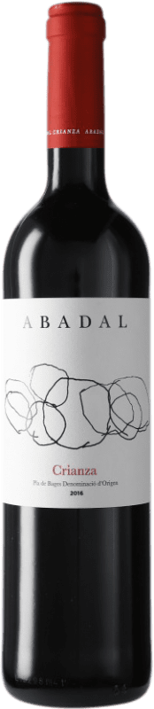 9,95 € 免费送货 | 红酒 Masies d'Avinyó Abadal Crianza D.O. Pla de Bages 加泰罗尼亚 西班牙 Merlot, Cabernet Sauvignon 瓶子 75 cl