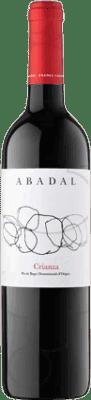 7,95 € Envío gratis | Vino tinto Masies d'Avinyó Abadal Crianza D.O. Pla de Bages Cataluña España Merlot, Cabernet Sauvignon Media Botella 50 cl