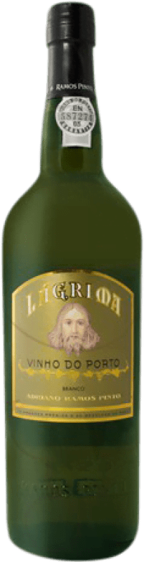 17,95 € | Fortified wine Ramos Pinto Lágrima Oporto I.G. Porto Portugal Malvasía, Godello, Rabigato Missile Bottle 1 L