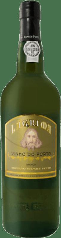 17,95 € 免费送货 | 强化酒 Ramos Pinto Lágrima Oporto I.G. Porto 葡萄牙 Malvasía, Godello, Rabigato 瓶子 Misil 1 L