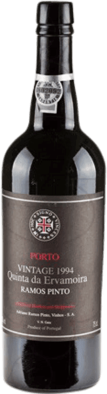 58,95 € Free Shipping | Fortified wine Ramos Pinto Quinta Ervamoira Oporto 2004 I.G. Porto Portugal Tempranillo, Touriga Franca, Touriga Nacional, Tinta Amarela, Tinta Cão, Tinta Barroca Bottle 75 cl