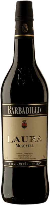 7,95 € Free Shipping | Fortified wine Barbadillo Laura D.O. Jerez-Xérès-Sherry Andalucía y Extremadura Spain Muscatel Bottle 75 cl