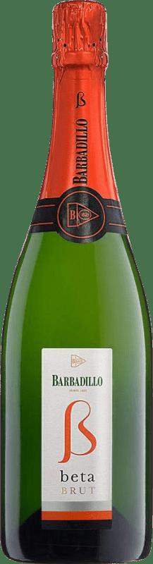 6,95 € | White sparkling Barbadillo Brut Joven Andalucía y Extremadura Spain Palomino Fino, Chardonnay Bottle 75 cl