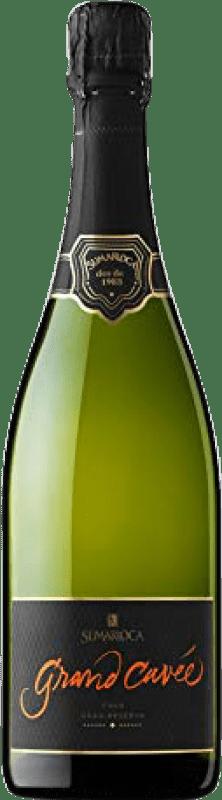 9,95 € Envío gratis | Espumoso blanco Sumarroca Cuvée Brut Nature Gran Reserva D.O. Cava Cataluña España Chardonnay, Parellada Botella 75 cl