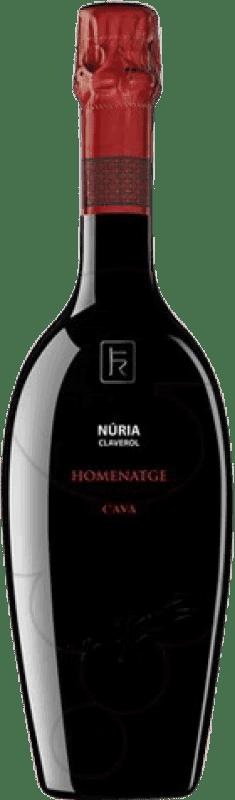 37,95 € | White sparkling Sumarroca Nuria Claverol Brut Gran Reserva D.O. Cava Catalonia Spain Xarel·lo, Chardonnay, Parellada Bottle 75 cl