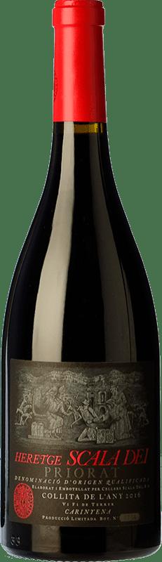 56,95 € Envío gratis | Vino tinto Scala Dei Heretge D.O.Ca. Priorat Cataluña España Botella 75 cl