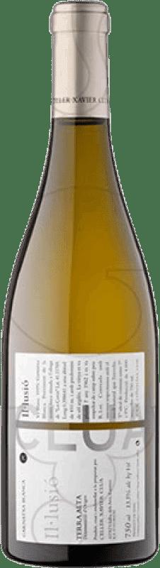 9,95 € Envío gratis | Vino blanco Xavier Clua Il·lusió Joven D.O. Terra Alta Cataluña España Garnacha Blanca Botella 75 cl