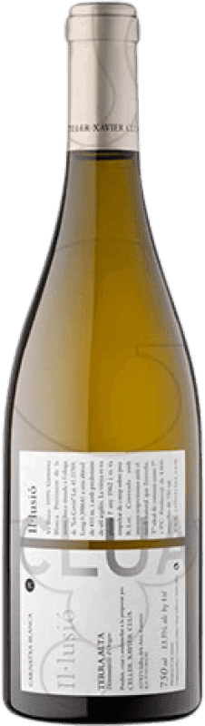 9,95 € Free Shipping | White wine Xavier Clua Il·lusió Joven D.O. Terra Alta Catalonia Spain Grenache White Bottle 75 cl