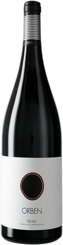 42,95 € Envío gratis   Vino tinto Orben Crianza D.O.Ca. Rioja La Rioja España Botella Mágnum 1,5 L