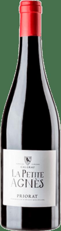 18,95 € | Red wine Cal Grau La Petite Agnès Joven D.O.Ca. Priorat Catalonia Spain Grenache, Mazuelo, Carignan Magnum Bottle 1,5 L