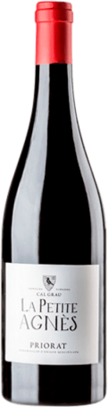 18,95 € Envío gratis | Vino tinto Cal Grau La Petite Agnès Joven D.O.Ca. Priorat Cataluña España Garnacha, Mazuelo, Cariñena Botella Mágnum 1,5 L
