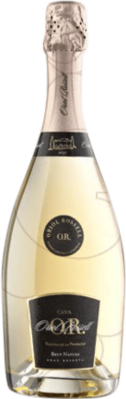 29,95 € | White sparkling Oriol Rossell Propietat Brut Nature Reserva D.O. Cava Catalonia Spain Macabeo, Xarel·lo, Parellada Bottle 75 cl