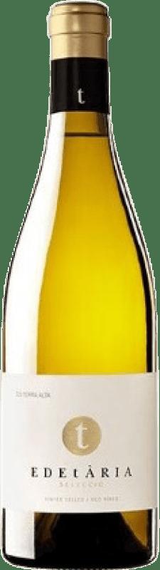 24,95 € Envío gratis | Vino blanco Edetària Crianza D.O. Terra Alta Cataluña España Garnacha Blanca, Macabeo Botella 75 cl