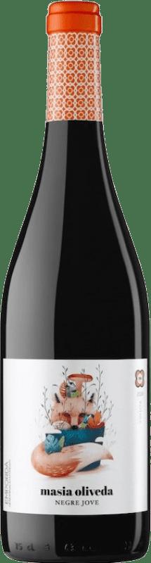 5,95 € 免费送货 | 红酒 Oliveda Masía Joven D.O. Empordà 加泰罗尼亚 西班牙 Grenache, Cabernet Sauvignon 瓶子 75 cl
