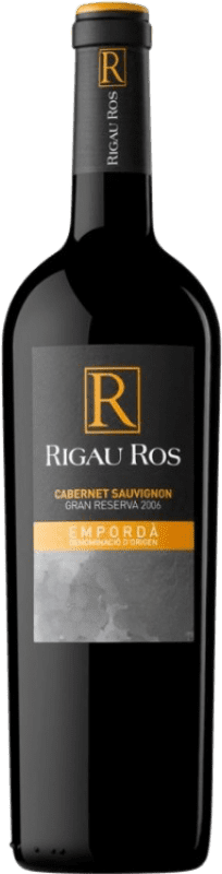 11,95 € 免费送货 | 红酒 Oliveda Rigau Ros Cabernet Gran Reserva D.O. Empordà 加泰罗尼亚 西班牙 Merlot, Cabernet Sauvignon 瓶子 75 cl