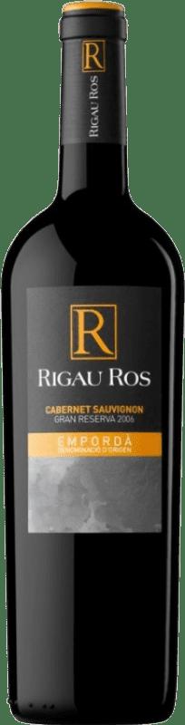 11,95 € Envío gratis | Vino tinto Oliveda Rigau Ros Cabernet Gran Reserva D.O. Empordà Cataluña España Merlot, Cabernet Sauvignon Botella 75 cl