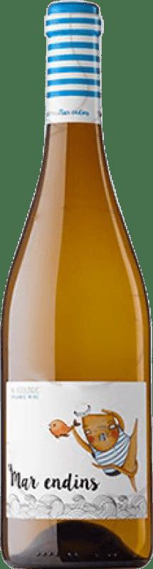 8,95 € Envío gratis | Vino blanco Oliveda Mar Endins Joven D.O. Empordà Cataluña España Garnacha Blanca Botella 75 cl