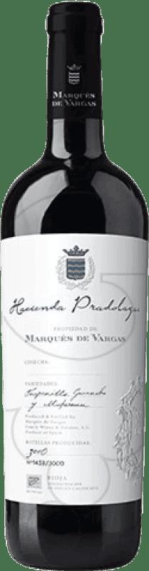 119,95 € Envío gratis | Vino tinto Marqués de Vargas H. Pradolagar D.O.Ca. Rioja La Rioja España Tempranillo, Garnacha, Mazuelo, Cariñena Botella 75 cl