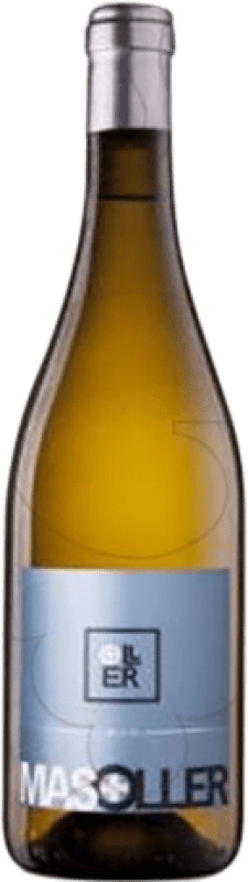 21,95 € Free Shipping | White wine Mas Oller Mar Joven D.O. Empordà Catalonia Spain Malvasía, Picapoll Magnum Bottle 1,5 L