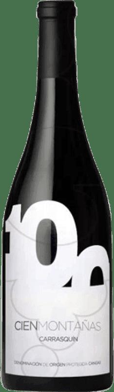 18,95 € Envoi gratuit | Vin rouge Vidas Cien Montañas Crianza D.O.P. Vino de Calidad de Cangas Castille et Leon Espagne Carrasquín Bouteille 75 cl