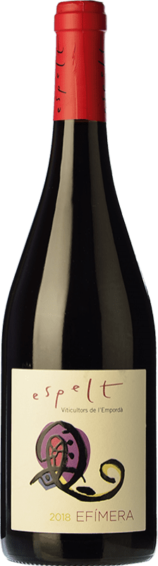7,95 € | Red wine Espelt Efímera Joven D.O. Empordà Catalonia Spain Grenache Bottle 75 cl