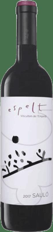 13,95 € | Red wine Espelt Saulo D.O. Empordà Catalonia Spain Grenache, Mazuelo, Carignan Magnum Bottle 1,5 L