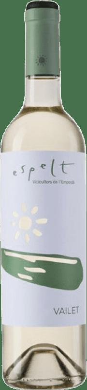 6,95 € | White wine Espelt Vailet Joven D.O. Empordà Catalonia Spain Grenache White, Macabeo Bottle 75 cl