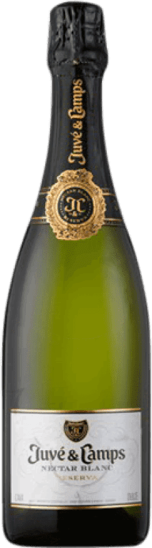 12,95 € | White sparkling Juvé y Camps Nectar Sweet D.O. Cava Catalonia Spain Macabeo, Xarel·lo, Parellada Bottle 75 cl