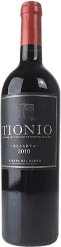 22,95 € | Red wine Tionio Reserva D.O. Ribera del Duero Castilla y León Spain Tempranillo Bottle 75 cl