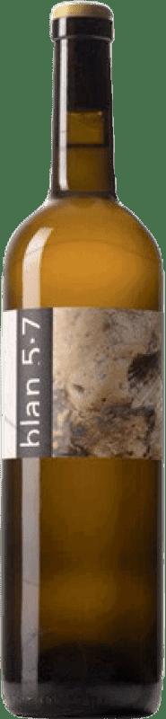13,95 € Free Shipping | White wine Jordi Llorens Blan 5.7 Joven Catalonia Spain Macabeo Bottle 75 cl
