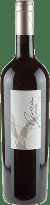 21,95 € Free Shipping | Red wine Olivardots Gresa Expressio D.O. Empordà Catalonia Spain Syrah, Grenache, Cabernet Sauvignon, Mazuelo, Carignan Bottle 75 cl