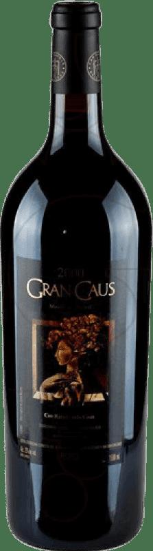 53,95 € | Red wine Can Ràfols Gran Caus Reserva D.O. Penedès Catalonia Spain Merlot, Cabernet Sauvignon, Cabernet Franc Magnum Bottle 1,5 L