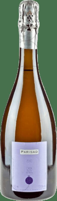 27,95 € Free Shipping | White sparkling Can Ràfols Parisad Extra Brut Gran Reserva D.O. Cava Catalonia Spain Macabeo, Xarel·lo, Chardonnay Bottle 75 cl