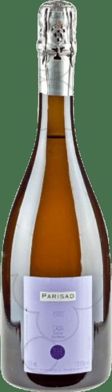 53,95 € | White sparkling Can Ràfols Parisad Extra Brut Gran Reserva D.O. Cava Catalonia Spain Macabeo, Xarel·lo, Chardonnay Magnum Bottle 1,5 L