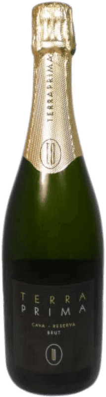 9,95 € Free Shipping | White sparkling Can Ràfols Terraprima Brut Reserva D.O. Cava Catalonia Spain Macabeo, Xarel·lo, Chardonnay Bottle 75 cl