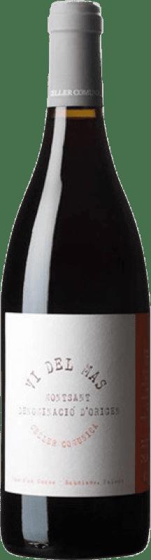 8,95 € Free Shipping | Red wine Comunica Vi del Mas Joven D.O. Montsant Catalonia Spain Syrah, Grenache Bottle 75 cl