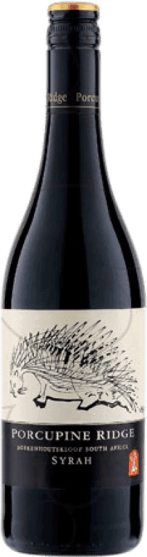 18,95 € Free Shipping | Red wine Boekenhoutskloof Porcupine Ridge Crianza South Africa Syrah Bottle 75 cl