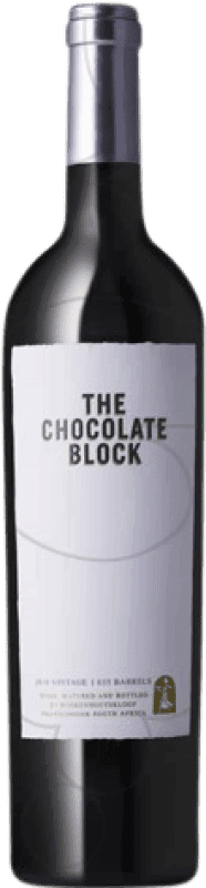 95,95 € Free Shipping | Red wine Boekenhoutskloof The Chocolate Block South Africa Syrah, Grenache, Cabernet Sauvignon, Cinsault, Viognier Magnum Bottle 1,5 L