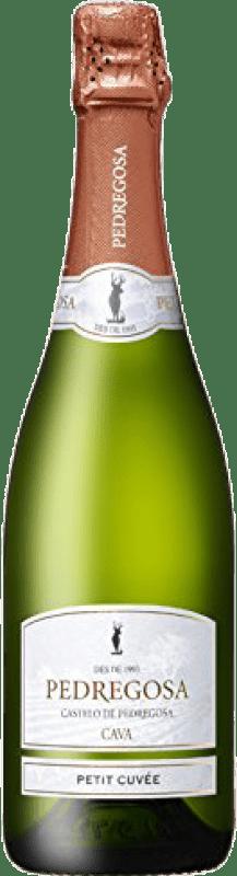 6,95 € | White sparkling Pedregosa Petit Cuvée Brut Nature Joven D.O. Cava Catalonia Spain Macabeo, Xarel·lo, Parellada Bottle 75 cl
