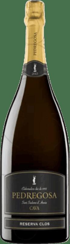16,95 € | White sparkling Pedregosa Clos Brut Nature Reserva D.O. Cava Catalonia Spain Macabeo, Xarel·lo, Parellada Magnum Bottle 1,5 L
