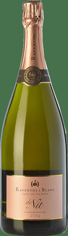 29,95 € Free Shipping   Rosé sparkling Raventós i Blanc de Nit Brut Joven Catalonia Spain Monastrell, Macabeo, Xarel·lo, Parellada Magnum Bottle 1,5 L