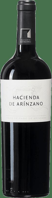 17,95 € | Red wine Arínzano Hacienda de Arínzano Crianza D.O.P. Vino de Pago de Arínzano Navarre Spain Tempranillo, Merlot, Cabernet Sauvignon Bottle 75 cl