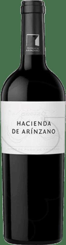 33,95 € | Red wine Arínzano Hacienda de Arínzano Crianza D.O.P. Vino de Pago de Arínzano Navarre Spain Tempranillo, Merlot, Cabernet Sauvignon Magnum Bottle 1,5 L