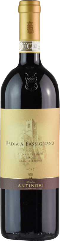 36,95 € Free Shipping | Red wine Badia a Passignano Antinori D.O.C.G. Chianti Italy Sangiovese Bottle 75 cl