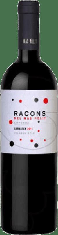 18,95 € | Red wine Mas Pòlit Racons Crianza D.O. Empordà Catalonia Spain Grenache Bottle 75 cl
