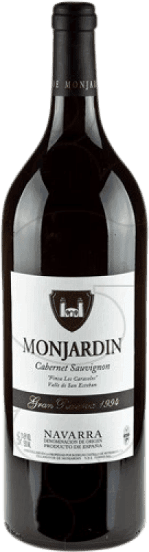 27,95 € Free Shipping | Red wine Castillo de Monjardín Gran Reserva D.O. Navarra Navarre Spain Cabernet Sauvignon Magnum Bottle 1,5 L