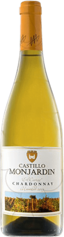 9,95 € Free Shipping | White wine Castillo de Monjardín Joven D.O. Navarra Navarre Spain Chardonnay Magnum Bottle 1,5 L